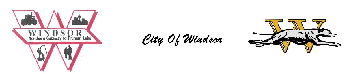 City of Windsor, MO